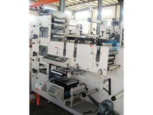 Machine d'impression flexographique ZBS-320G (3/4/5/6 couleurs)